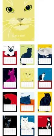 2011 Cat Calendar from Animals In Color
