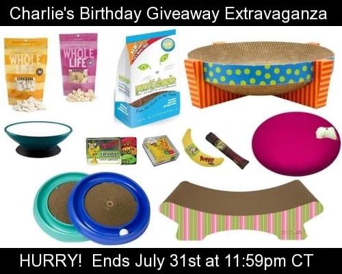Charlie Birthday Giveaway Last Minute Reminder