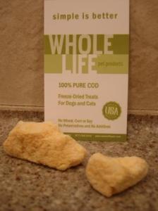 Whole Life  Pure Cod Freeze Dried Cat Treats