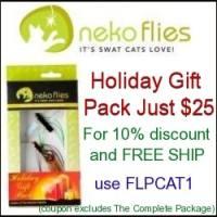 Neko Flies Holiday Gift Pack Banner