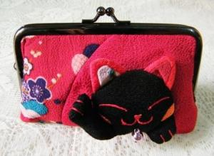 Lucky Cat Red Wallet Purse $9.99