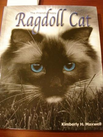 The Friendly Floppy Ragdoll Cat Book Front