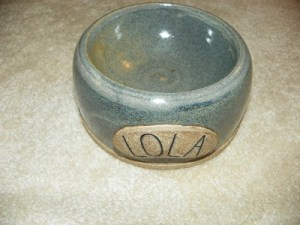 Lola bowl from LG Potter