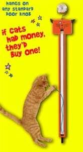 Moody Pet Fling-ama-String Motorized Interactive Cat Toy