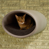 RONDO WALL felt, a designer cat tree