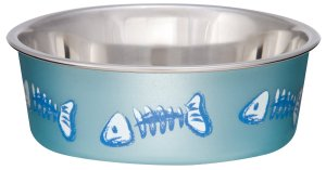 Loving Pets Fish Bella Bowl for Cats
