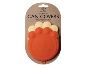 Pet Food Can Covers Paw Shaped Storage Lids