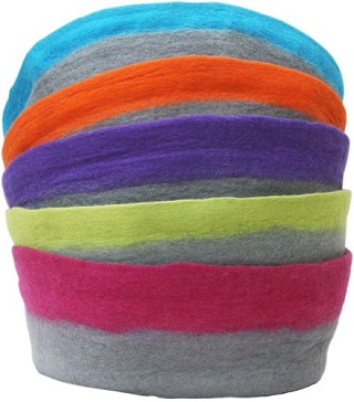 The Lollycadoodle Pet Nest Wool Bed
