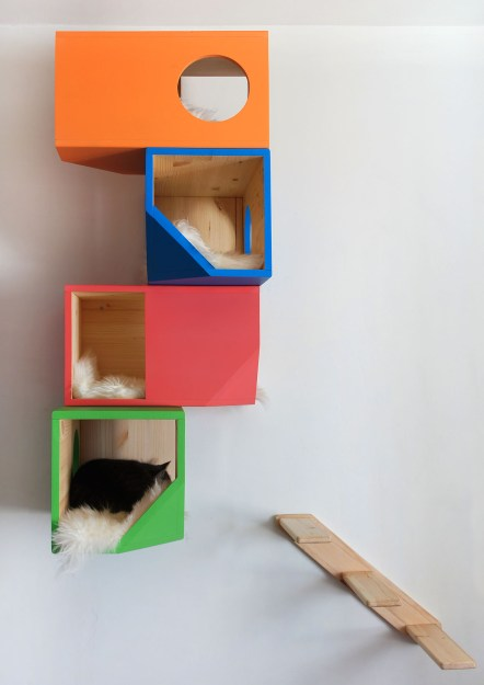 Wall Mounted Cat Tree Catissa