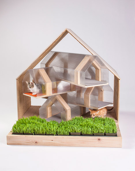 Cat Shelters Designed by Architects