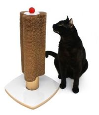 Modern Cardboard Cat Scratching Tower from Modern Cat Studio