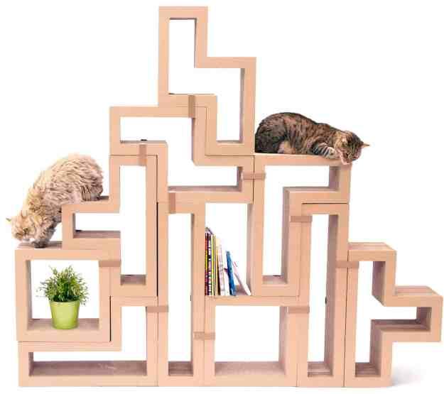 KATRIS Cardboard Cat Scratcher Giveaway on Floppycats April 2015