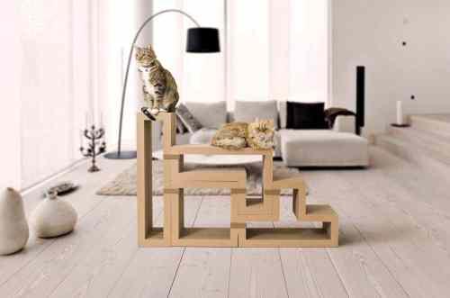 Katris Cardboard Cat Furniture Original