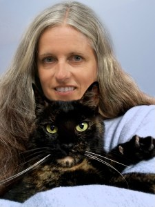 Ingrid King with Ruby of The Conscious Cat