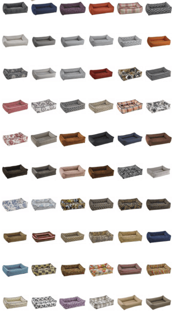 Bowsers Pet Bed Urban Lounger Product Review Fabric Options
