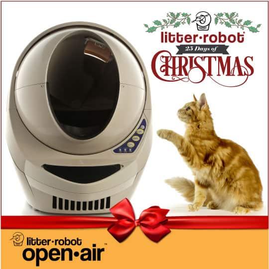 BONUS Giveaway! Win a Litter-Robot Open Air Automatic Litter Box!