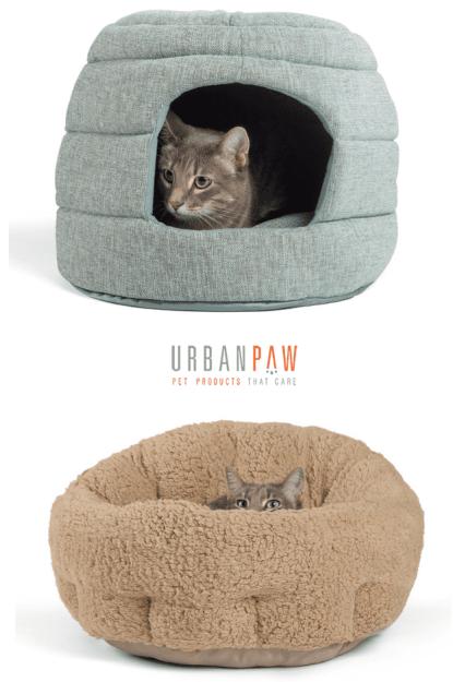 April 2016 Floppycats.com Giveaway Urban Paw Pet Beds