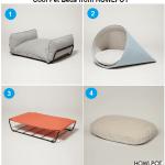 Designer Cat Beds from HOWLPOT