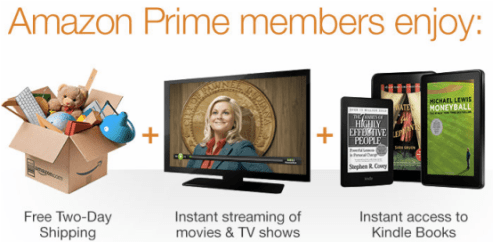 Amazon Prime Members Enjoy
