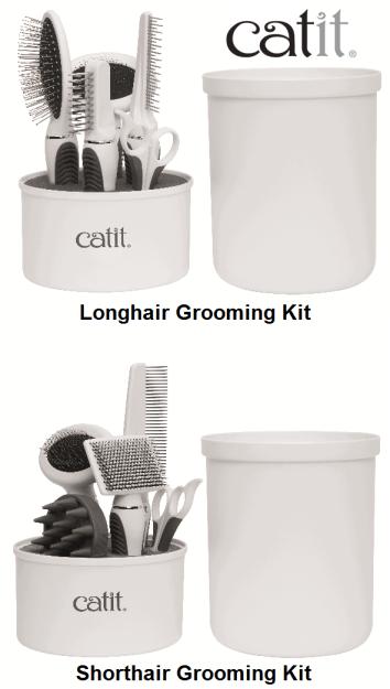 Catit Longhair and Shorthair Grooming Kits