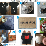 9 Fun Holiday Cat Lover Gifts on Etsy