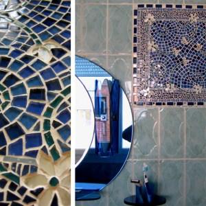 Décor mural Mosaïque en verre