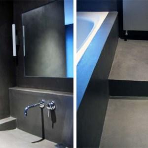 salle de bain couleur platinium