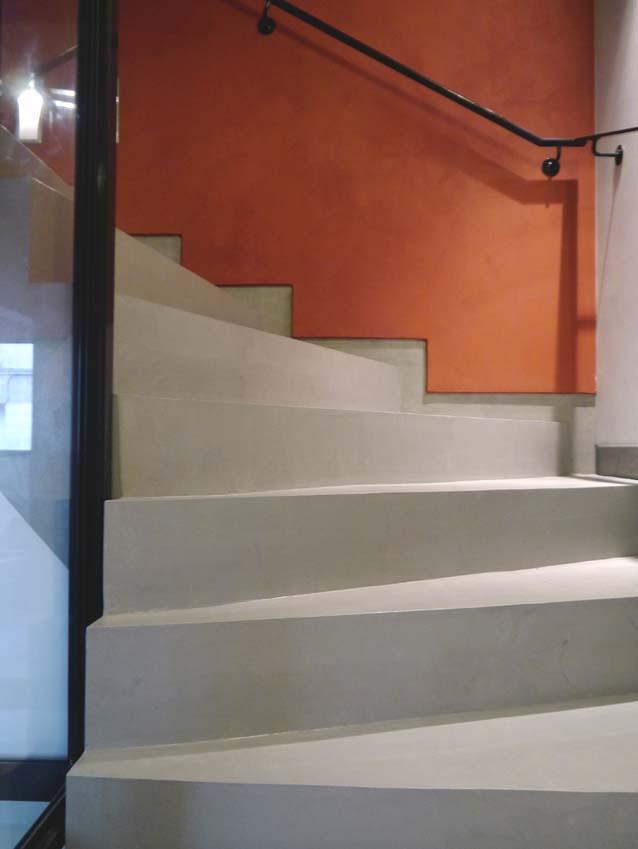 Escalier Marius Aurenti pour la fondation Entreprendre 75017 Paris