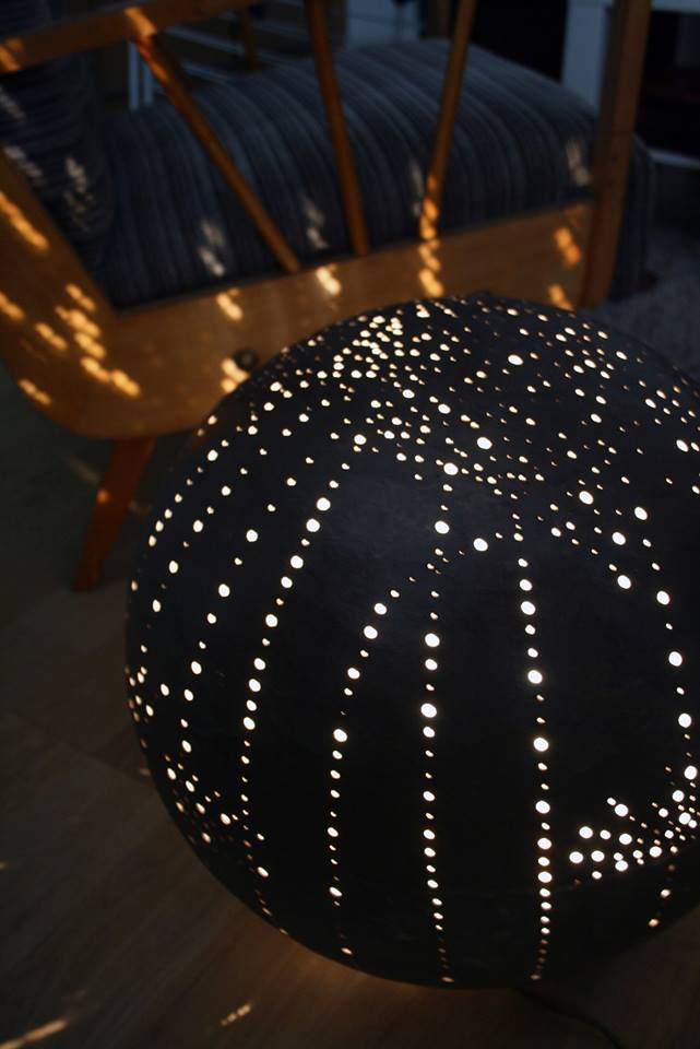 Luminaire en béton ciré Flore Molinaro