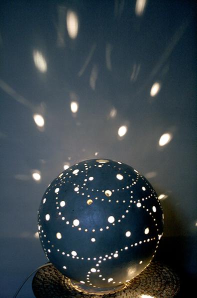 Lampe en béton ciré Flore Molinaro
