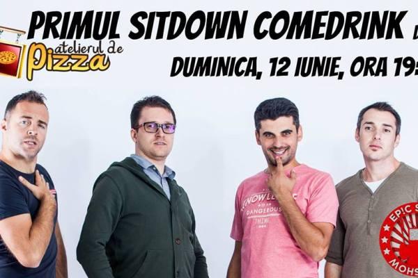 Epic Show - Primul Sitdown ComeDRINK de la Atelierul de Pizza