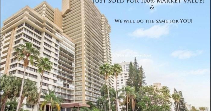 Galt Ocean Mile Plaza South Condo Sold