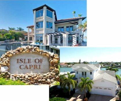 Isle of Capri Treasure Island FL Homes For Sale