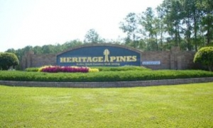 Heritage Pines Entry