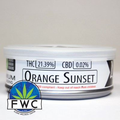 Orange Sunset by Paper Planes