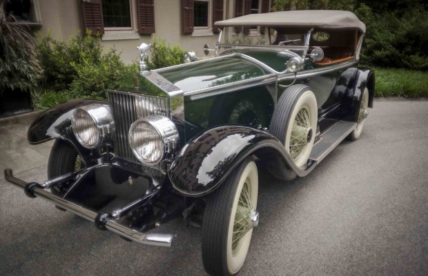 1927 Rolls-Royce Phantom, Ascot Tourer with body by Brewster & Co. Courtesy of Winterthur