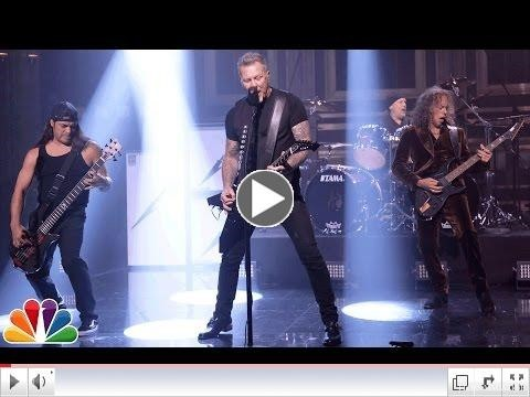 "Video: Metallica Performs ""Moth Into Flame"" On The Tonight Show Starring Jimmy Fallon"