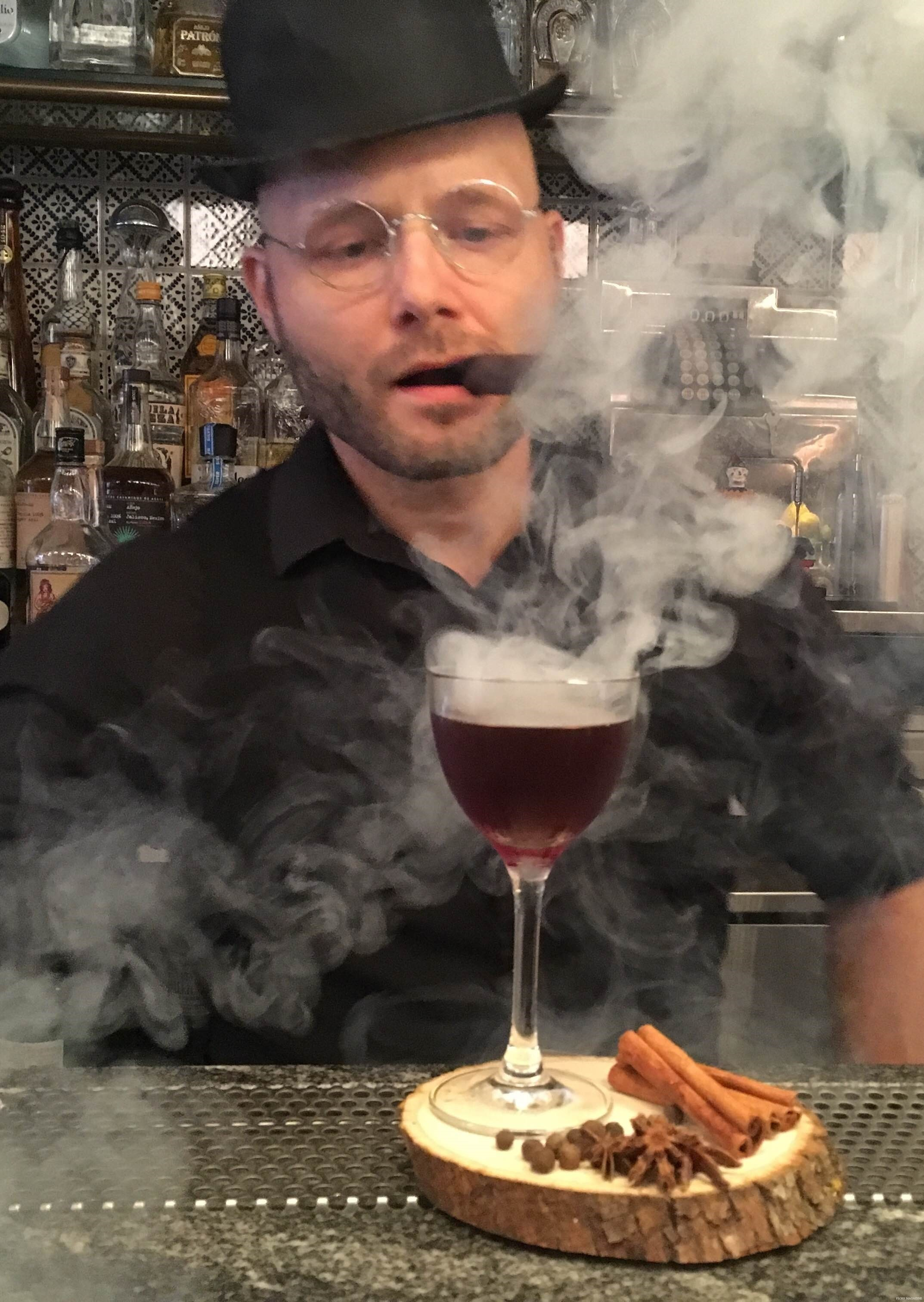 Halloween Cocktail Recipe Series: The Smoking Reverend, Sleepy Hallow and The Curse!!!