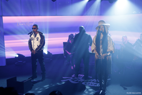 "Erykah Badu and Nas Perform ""This Bitter Land"""