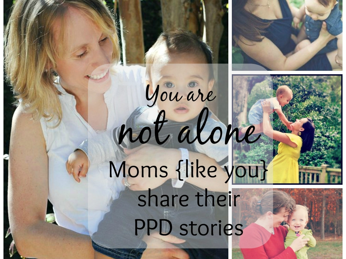 Moms share their PPD stories
