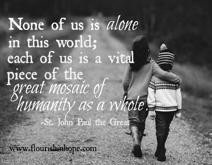 not alone.1