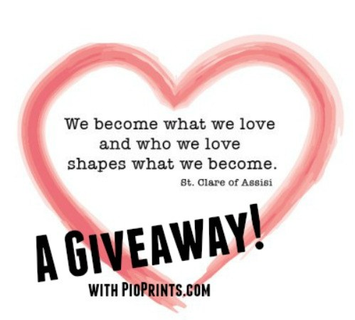 We Become What We Love – A GIVEAWAY!