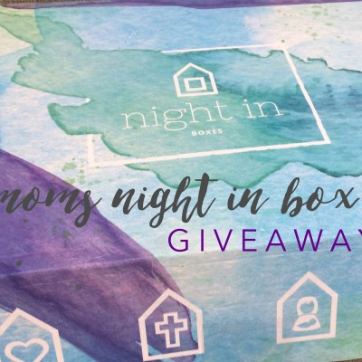 Treat Yourself to a Mom's Night In Box {PLUS A GIVEAWAY!}