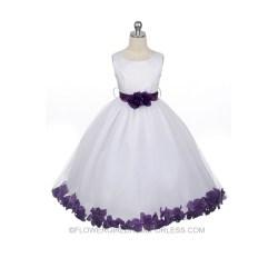 Small Crop Of Purple Flower Girl Dresses
