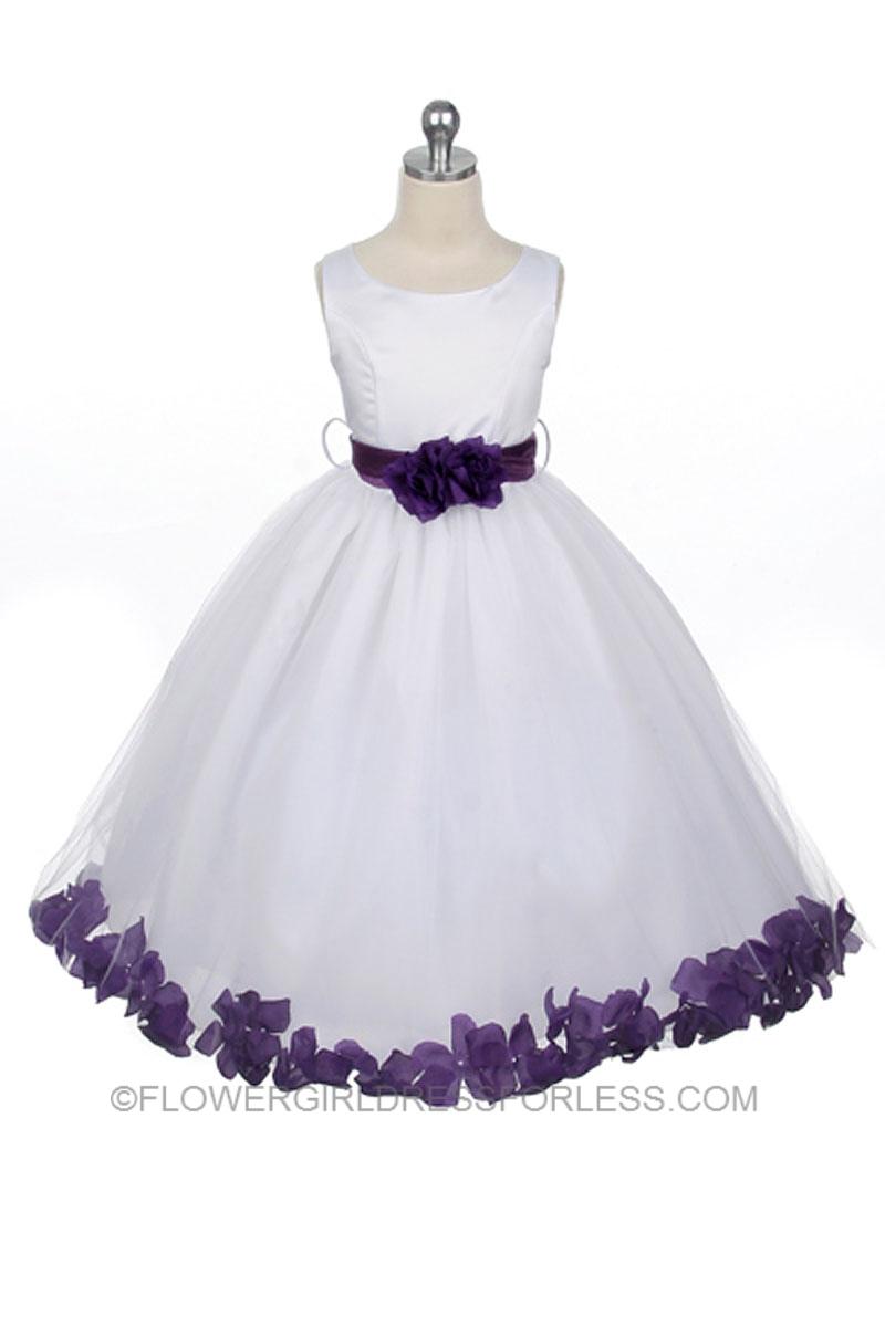 Large Of Purple Flower Girl Dresses