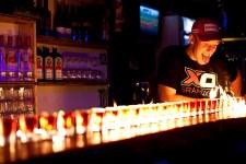 steve peat drinking shots