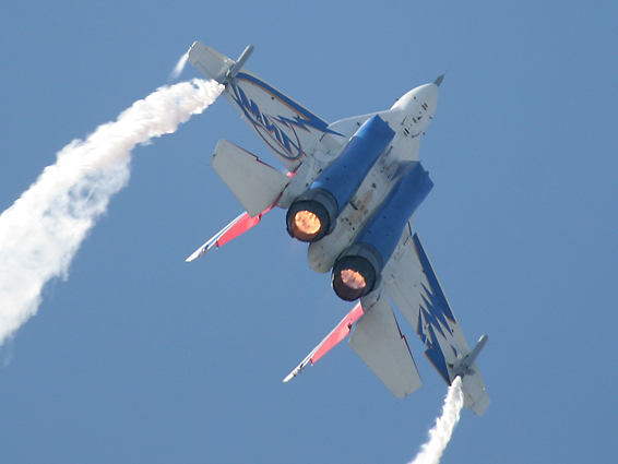 supersonic flight mig 29