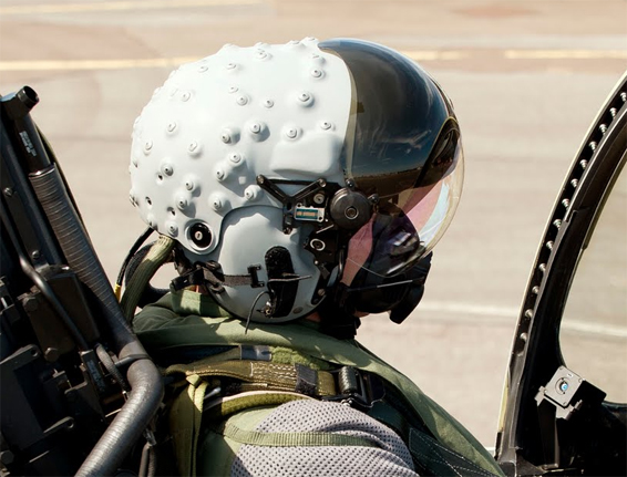 fighter pilot helmet