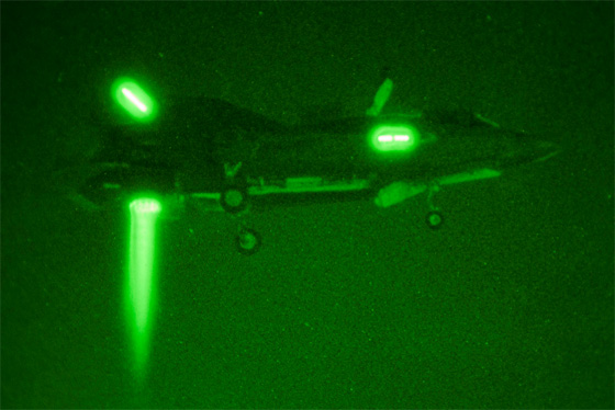 f-35 night landing