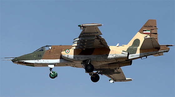 iran jet fighter